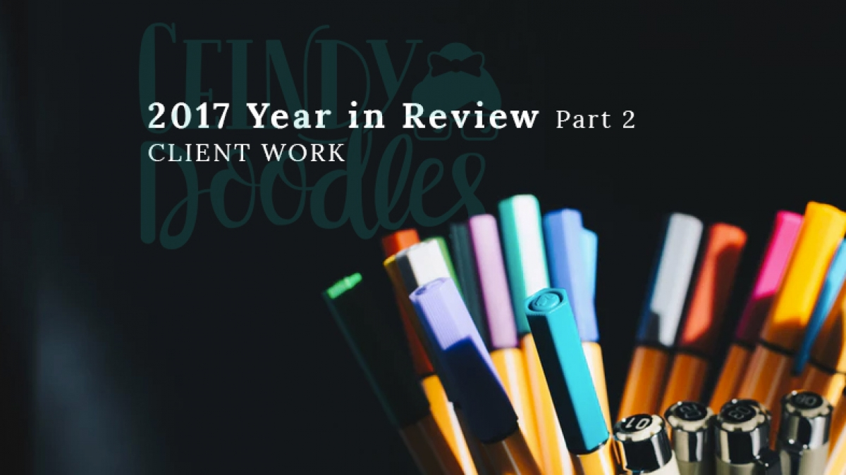 Ceindy Doodles Year in Review 2