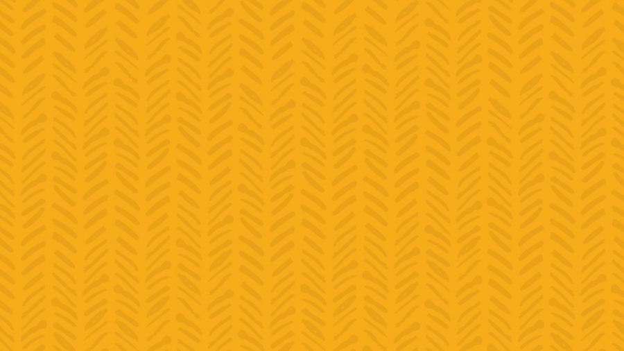 color block yellow with pattern