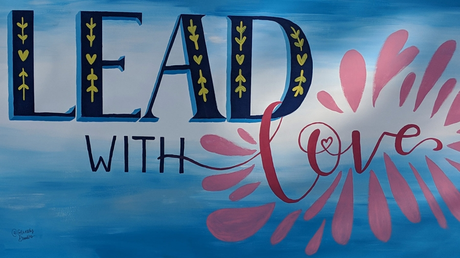 CeindyDoodles-Lead with Love Mural