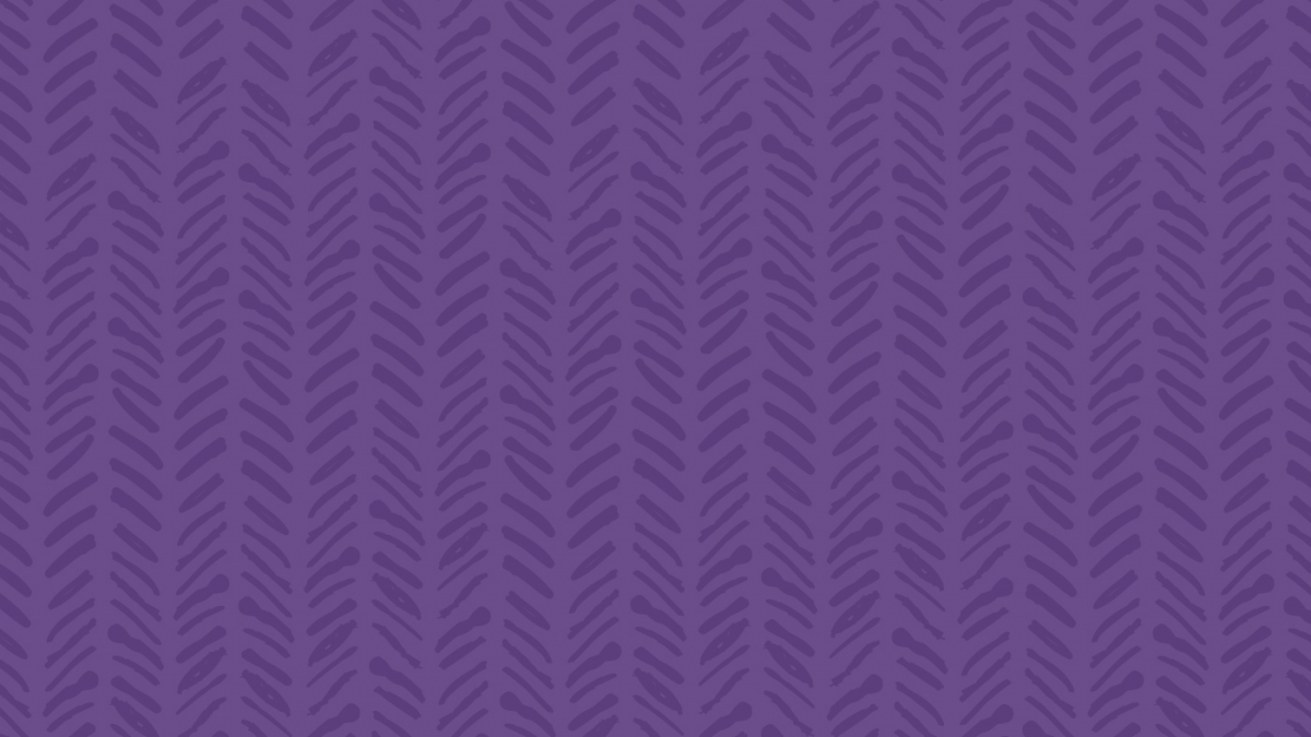 purple block with texture