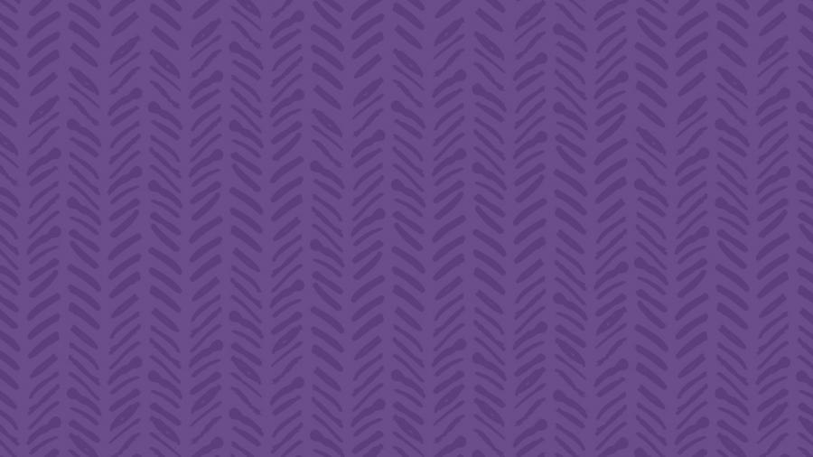 purple block with texture