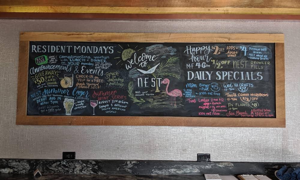 CeindyDoodles Chalkboard NEST August