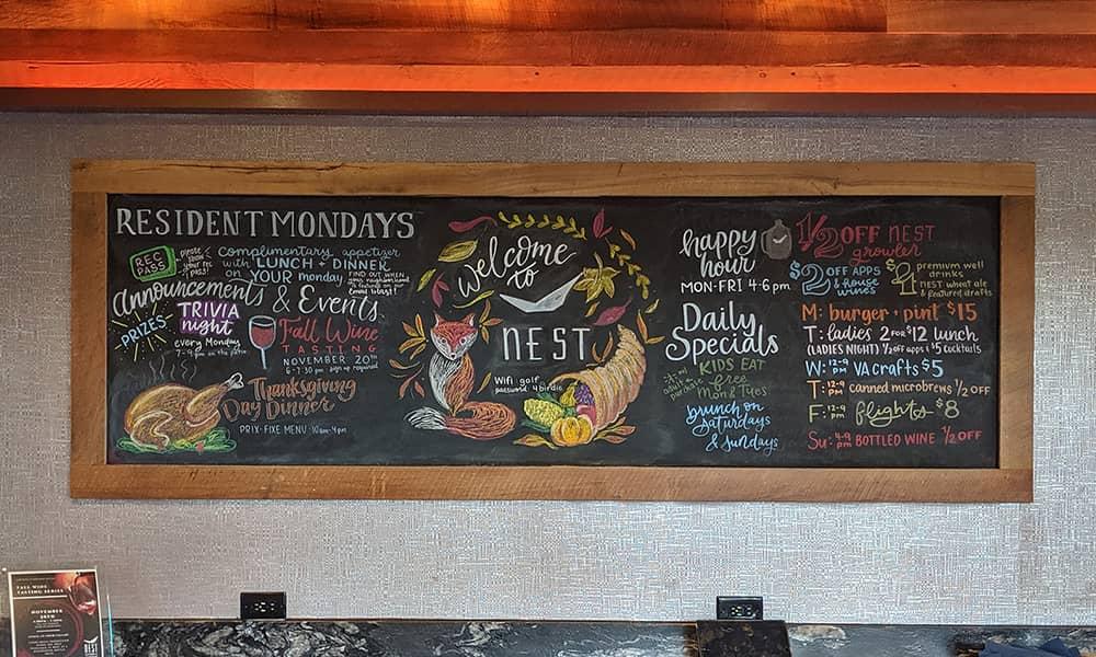 CeindyDoodles Chalkboard NEST November