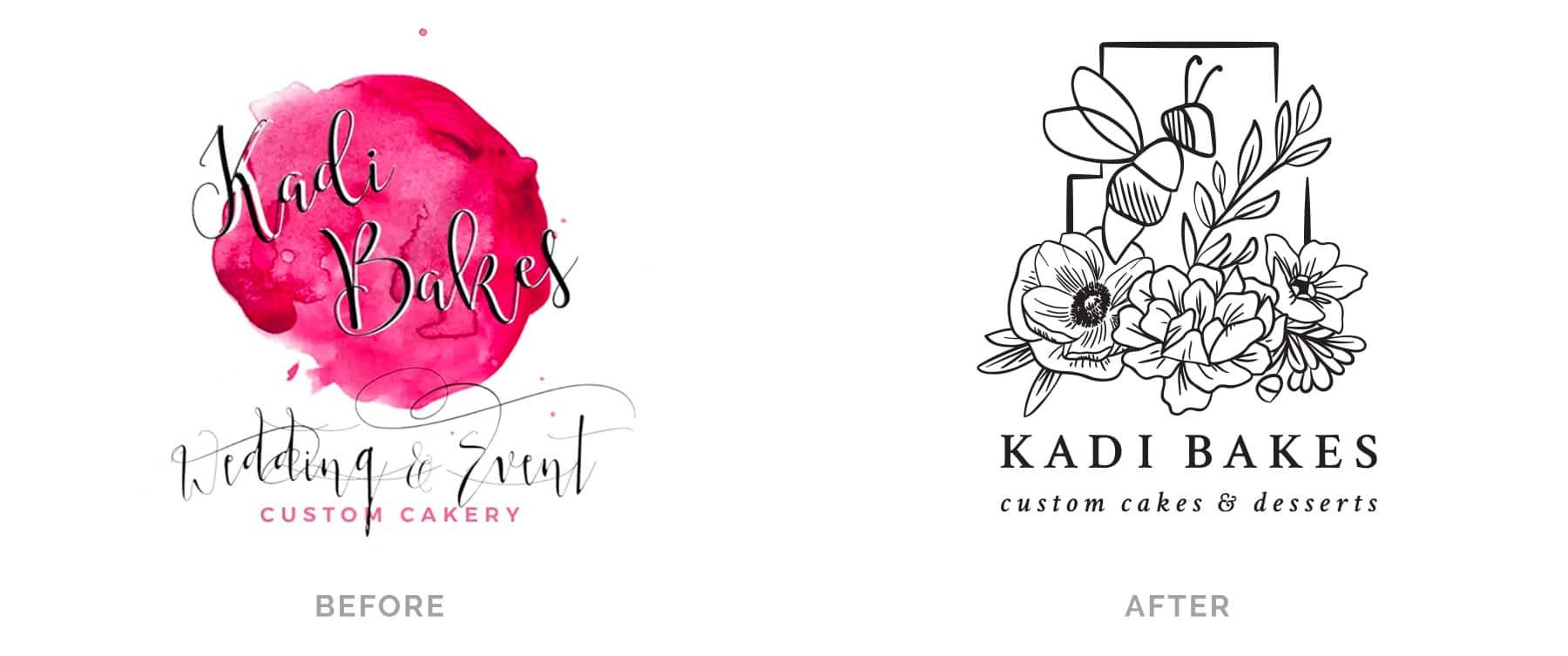 Before and After Kadi Bakes
