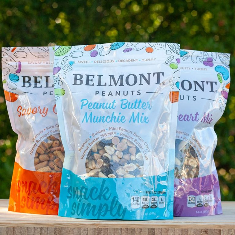 Belmont Trail Mix Packaging Design